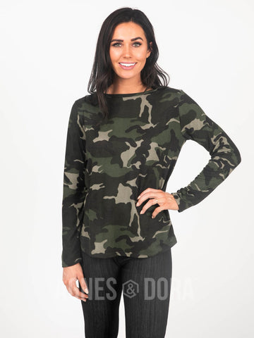 Agnes & Dora™ Cross Over Sweater Army Camo ONESIE SALE
