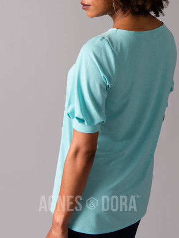 Agnes & Dora™ Elle Top Light Blue
