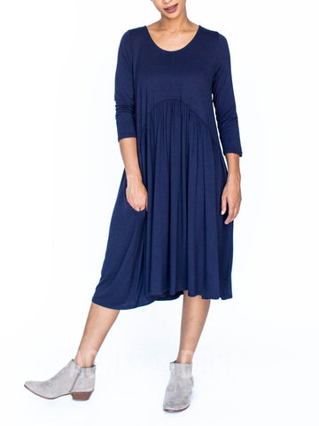 Agnes & Dora™ Muse Midi Dress Navy  ONESIE SALE