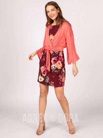Agnes & Dora™ Kimono Tie Top Strawberry ONESIE SALE