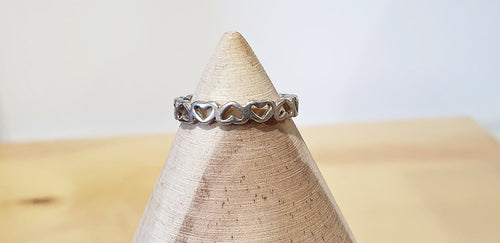 Little Miss Band of Hearts Ring