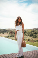 Love Crop Top - Ivory