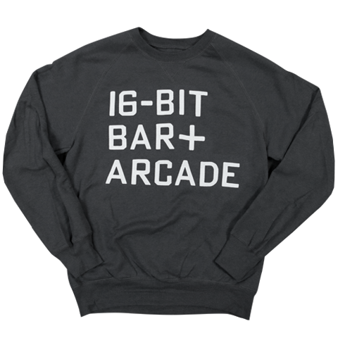 16-BIT BAR+ARCADE - SWEATSHIRT