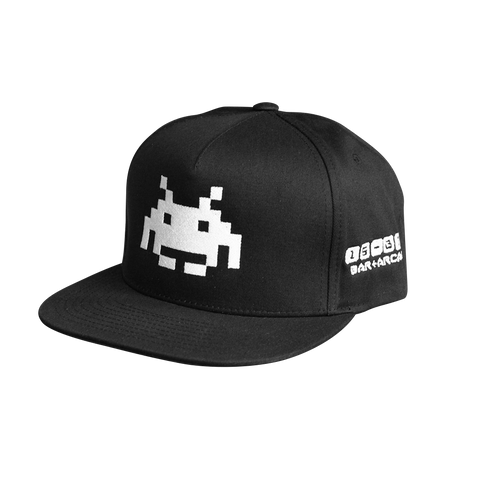 SPACE INVADERS GLOW SNAPBACK
