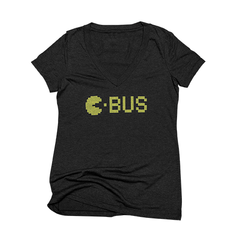 C-BUS PACMAN - WOMANS V-NECK
