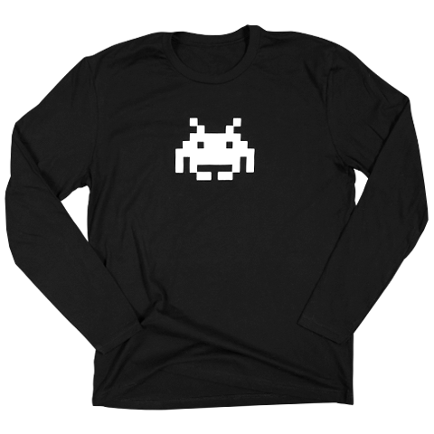 SPACE INVADERS - LONG SLEEVE