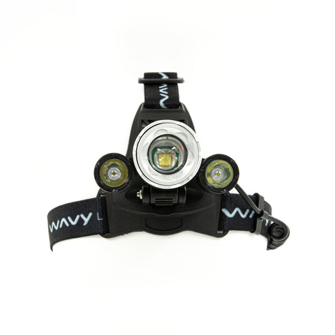 Wavy Label Head Lamp
