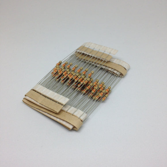 1/4 Watt carbon film resistors