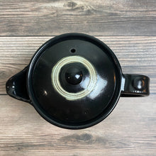 Load image into Gallery viewer, Black Oribe Tea Pot - KOKO utsuwa