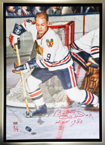 BOBBY HULL LIMITED EDITION CANVAS - LIMITED EDITION OF 9