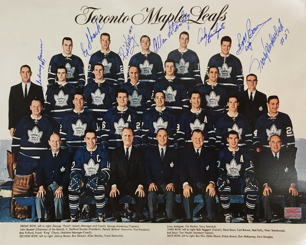 Autographed Johnny Bower Photo - Toronto Maple Leafs, Toronto Maple Leafs, NHL, Hockey, Autographed, Signed