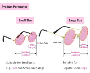 Fashion Sunglasses for Pets (Dogs, Cats, Rabbits) - Enjoy Your Everyday Life