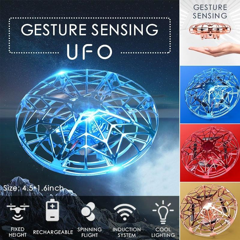 Gesture Sensing UFO Drone - Enjoy Your Everyday Life