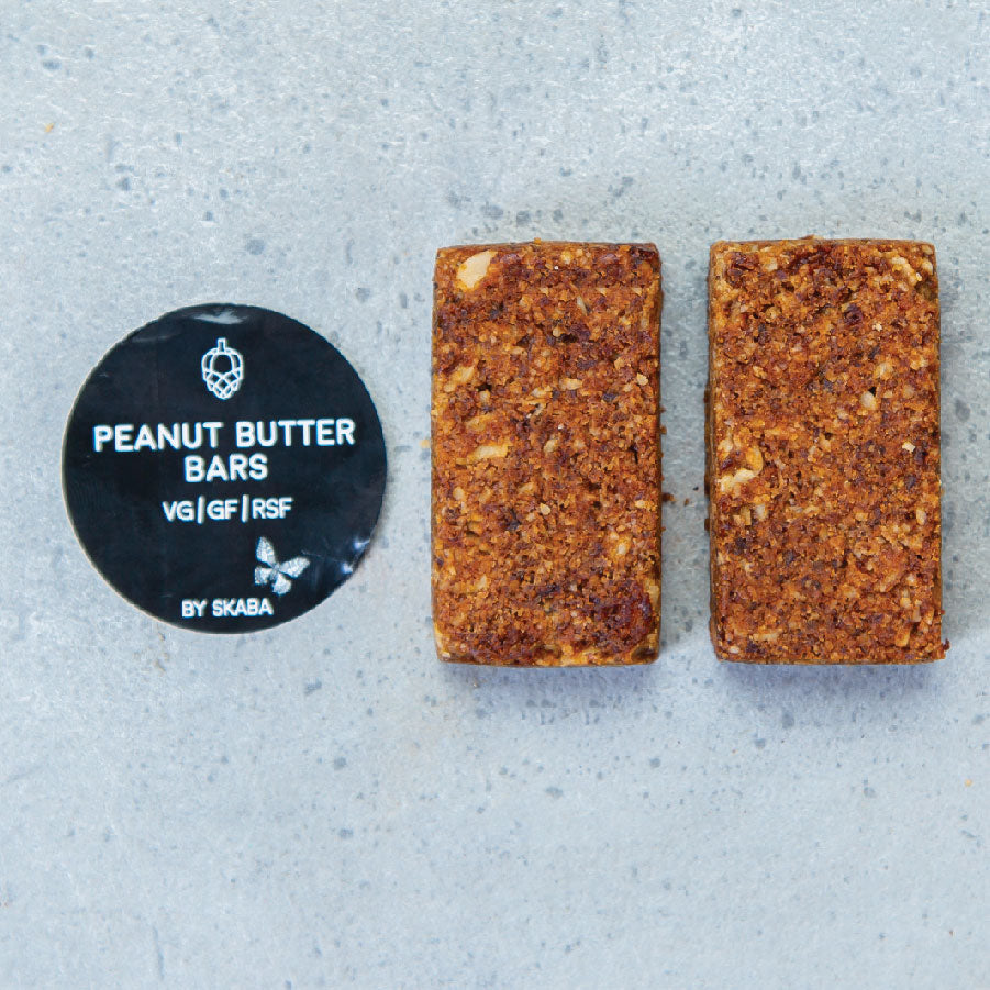 Peanut Butter Bars by Skaba (VG/GF/RSF)
