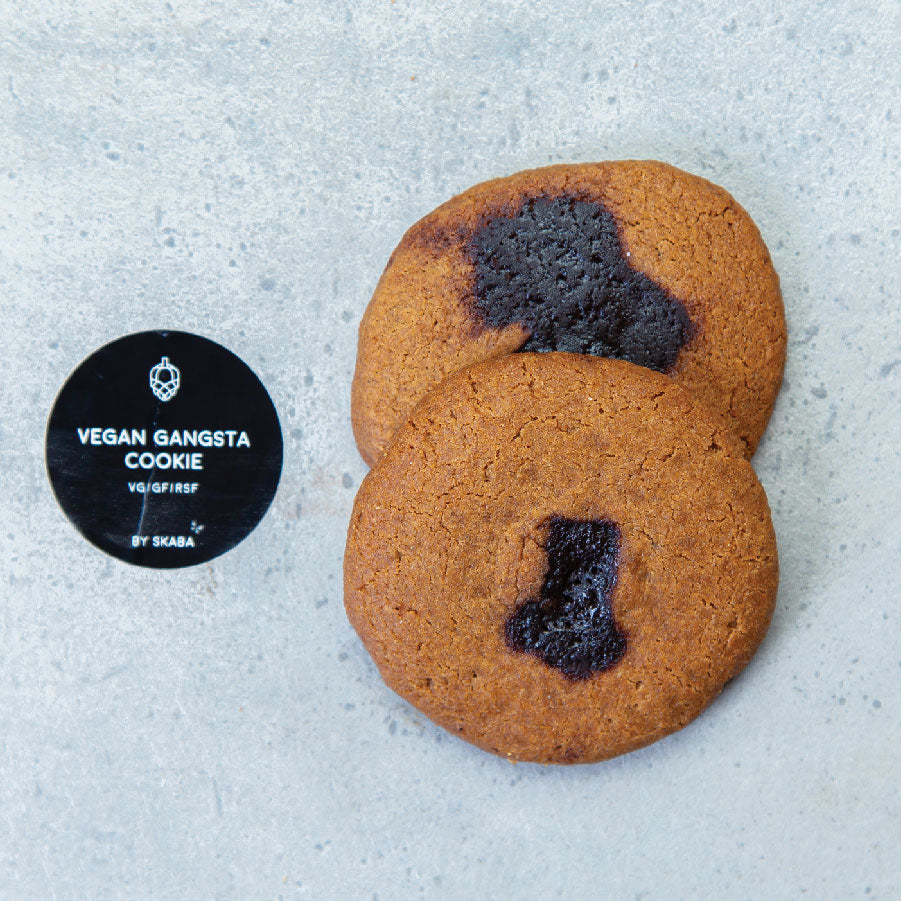 Vegan Gangsta Cookies by Skaba (VG/GF/RSF)