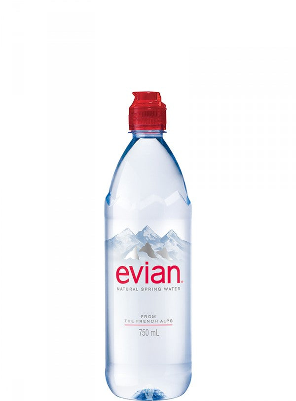 Sports Evian Bottle 750 ml