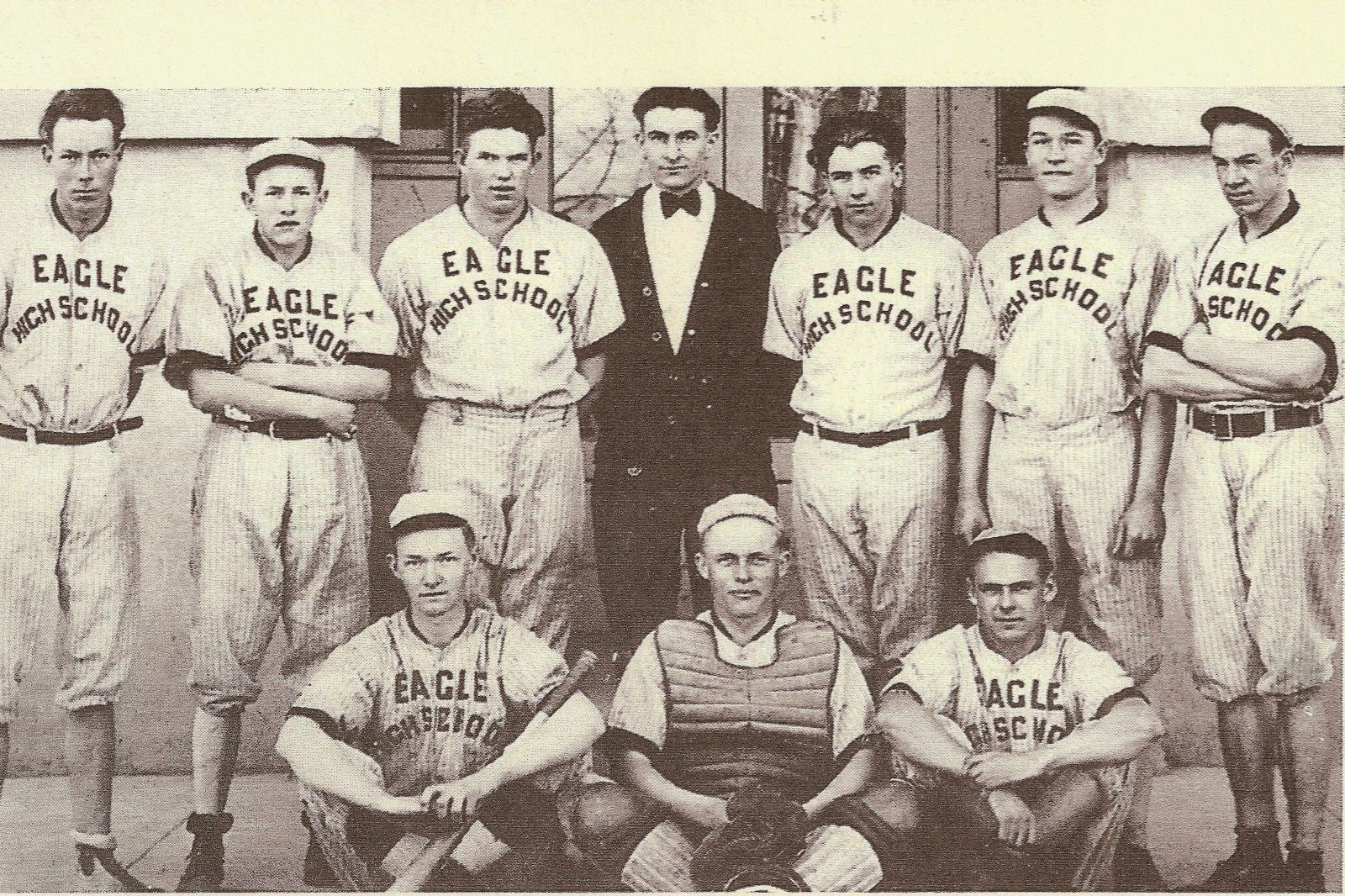 1931 Eagle High School boy's baseball team