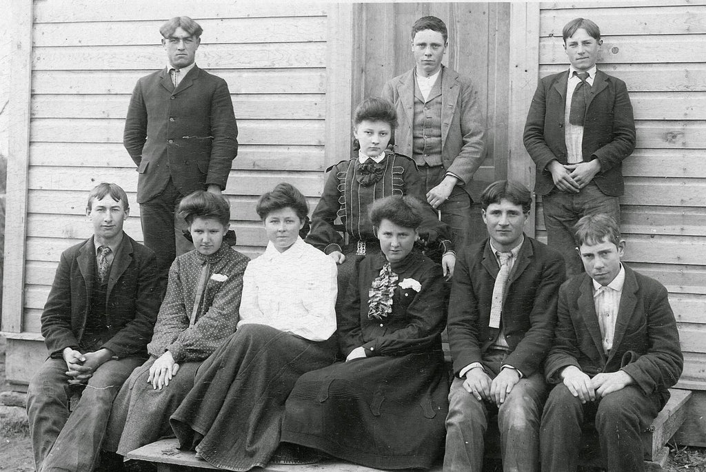 Eagle high school students - ca1905