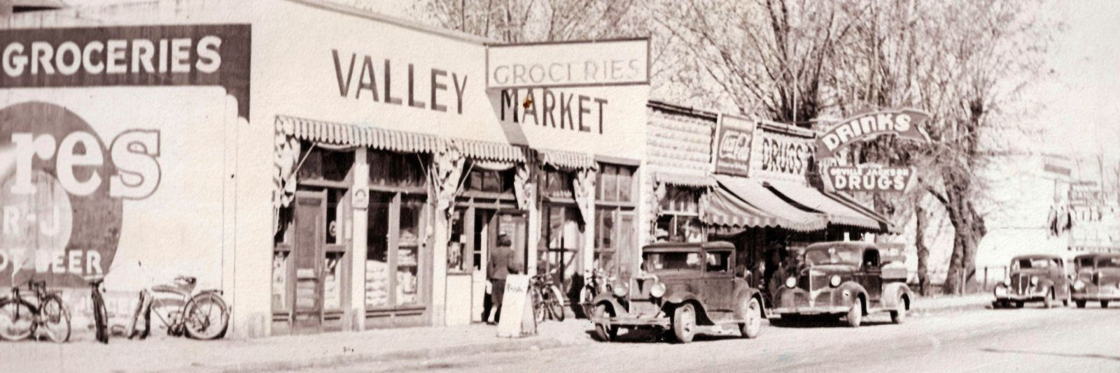 Valley Market during the 1940s