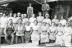 State St. prune packing shed workers pose for the camera
