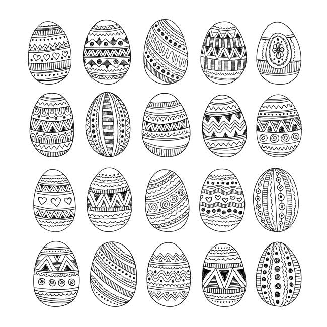Easter Eggs by Olga Kostenko