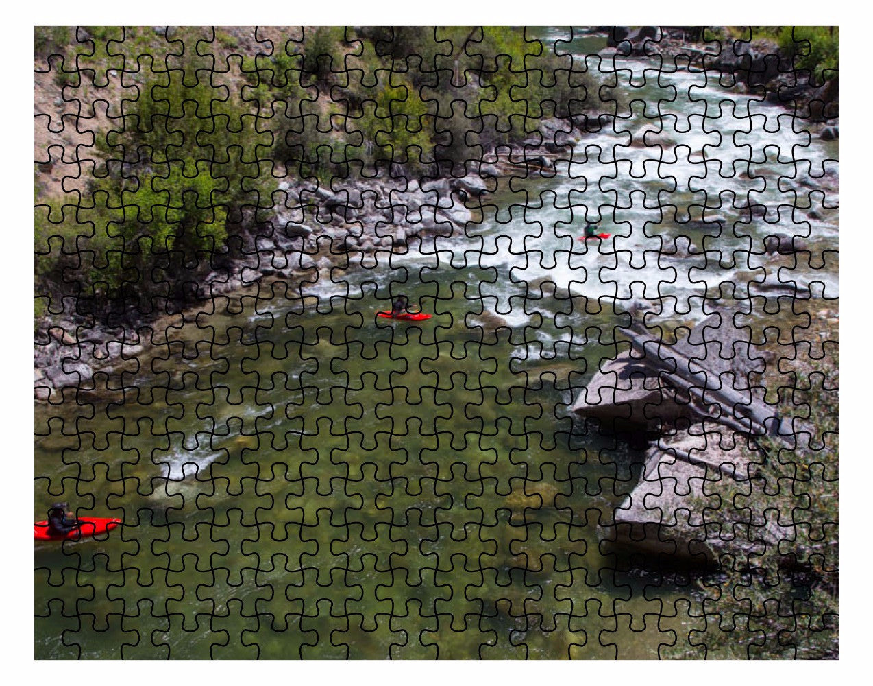 Puzzle- Kayaking