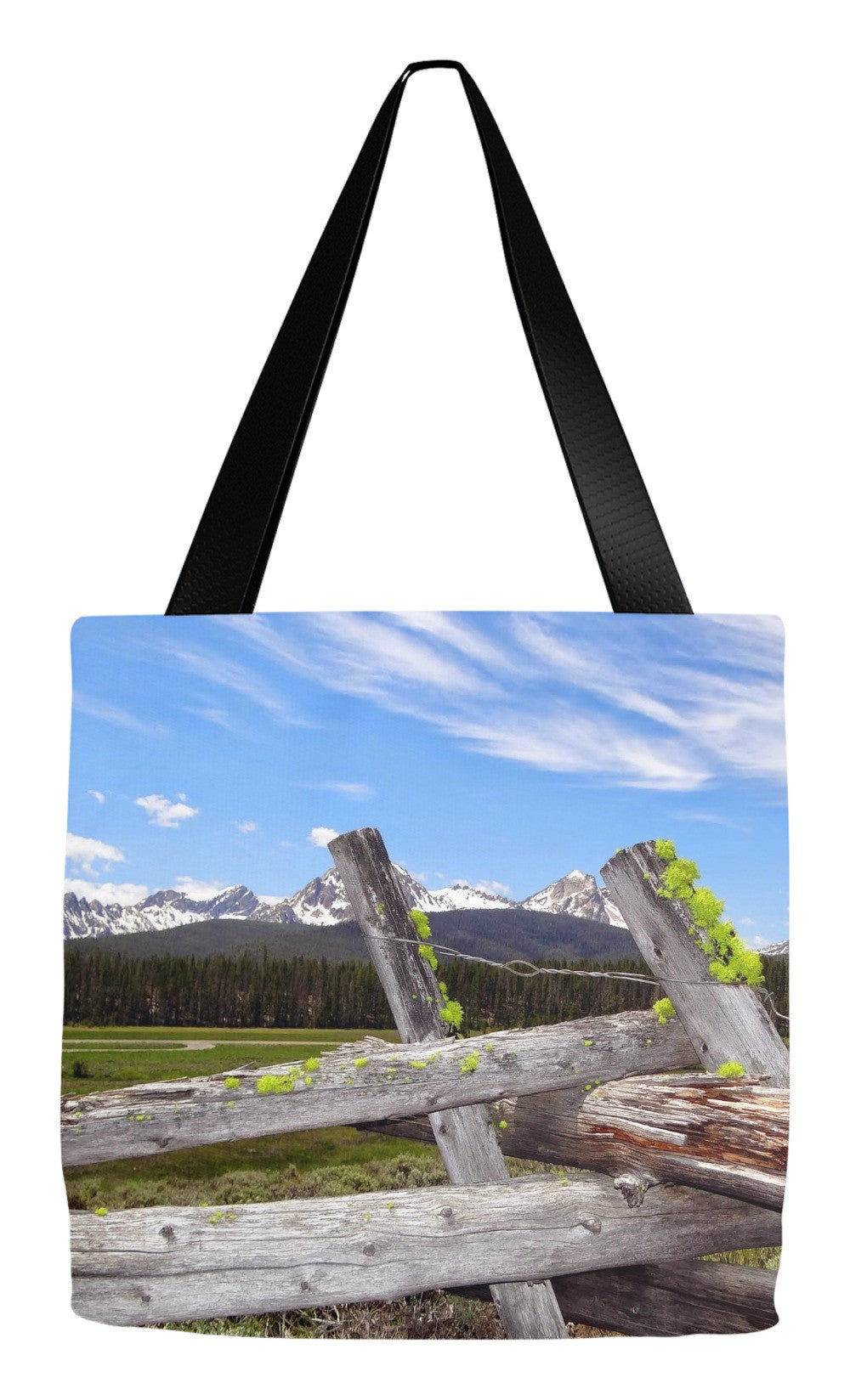 Tote Bag- Sawtooth Fence