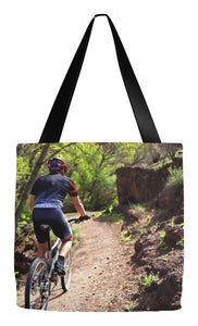 Tote Bag- Mountain Biking