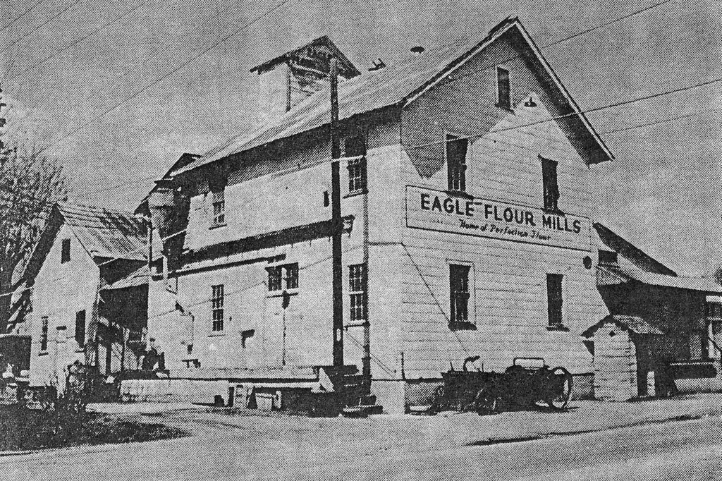 The Eagle Flour Mill on Eagle Road