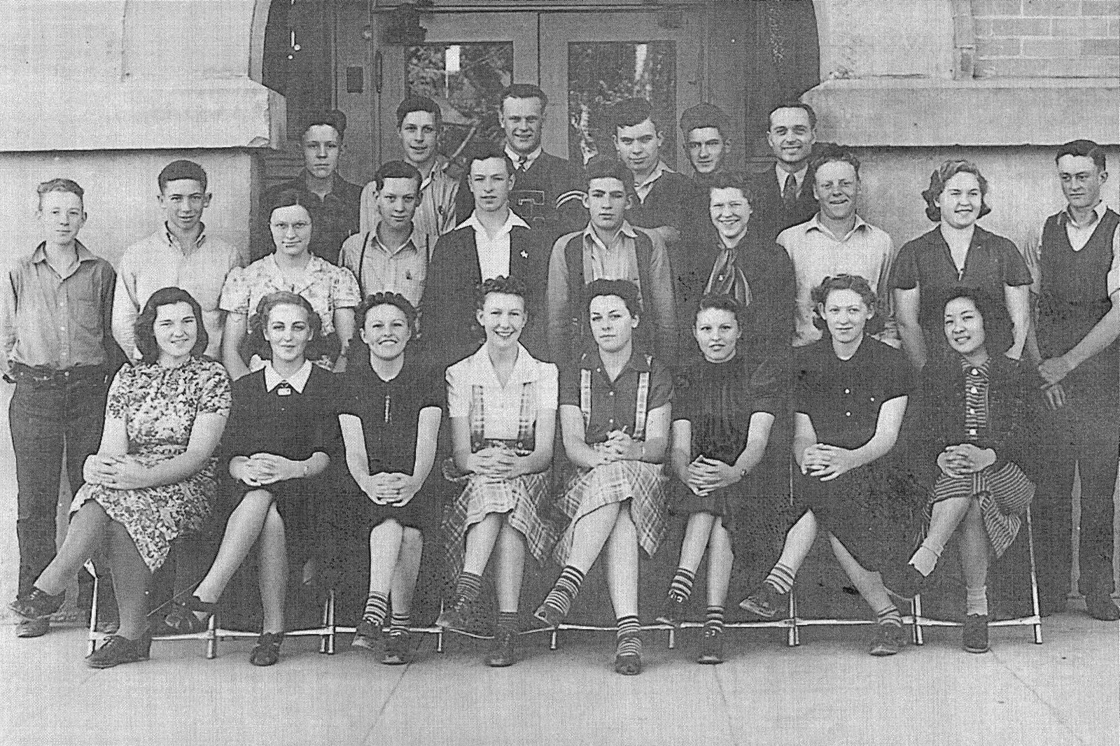 Eagle High School Junior class of 1939