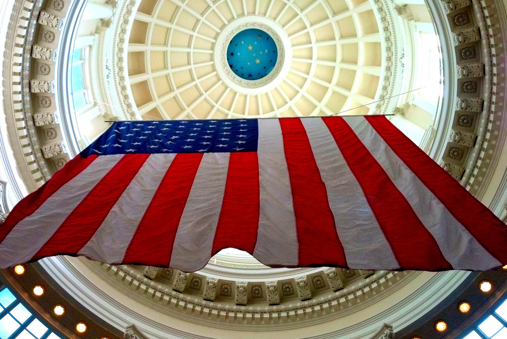Under the Idaho Capitol Dome