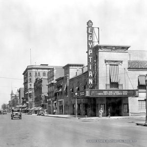 Boise Streets: The Egyptian 1930