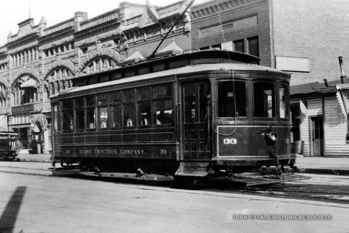 Car 33 at Union Block Idaho ST