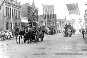 Firemen on Parade - late 1800's