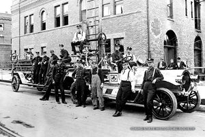 Hook and Ladder Company at Ease