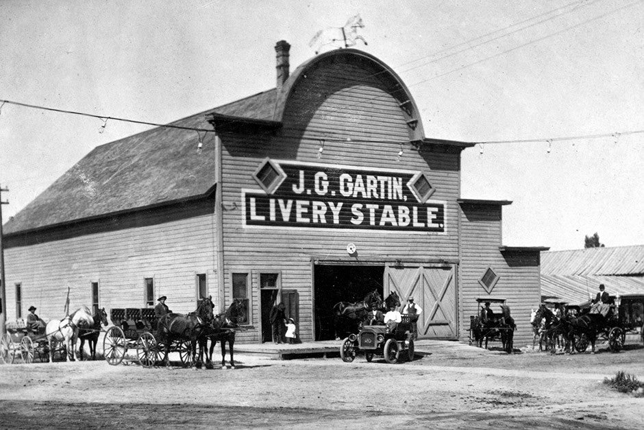 Caldwell JG Garvin Livery Stable