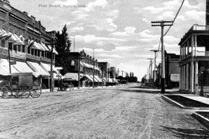 Deserted First Street - Nampa