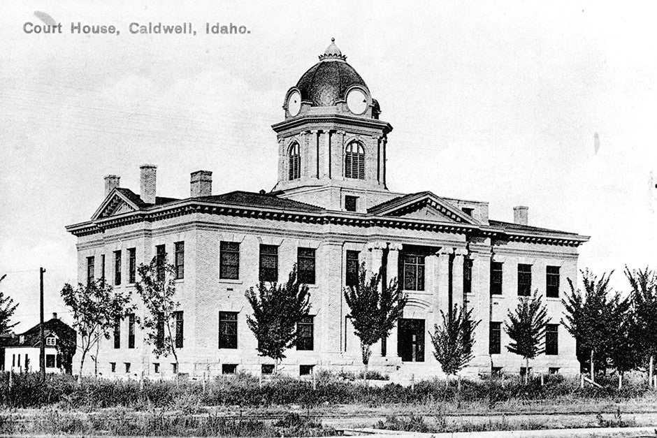 Caldwell Courthouse 1920