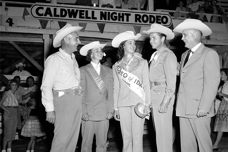Caldwell Night Rodeo Audie Murphy