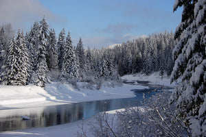 Winter Splendor on Priest River