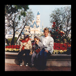 disneyland, brothers, yard