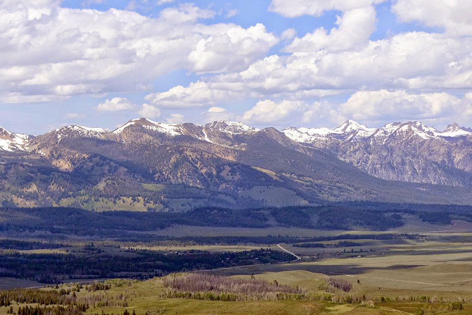 Sawtooth Valley from Lookout