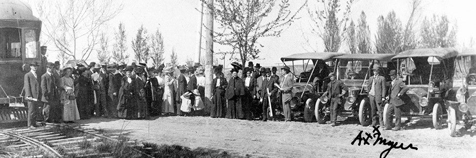 Caldwell Opening College heights Addition 1910