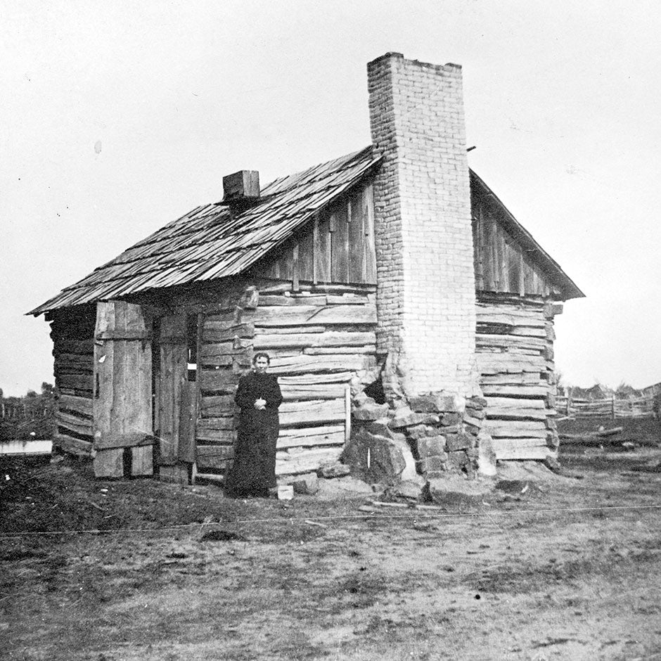 Caldwell Buildings - 1st Log Cabin