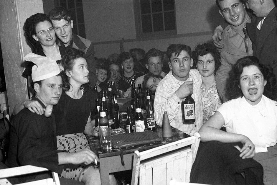 Riverside Ballroom New Year's Eve 1948