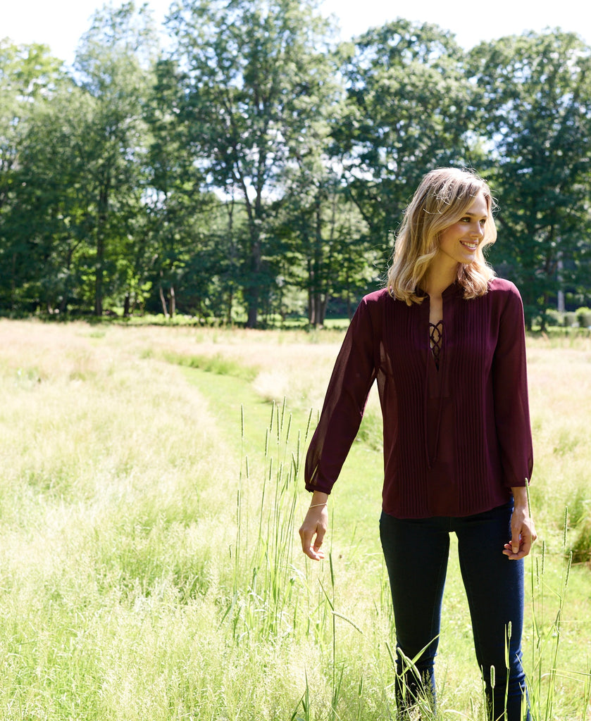 fall favorites: work tops & shirts
