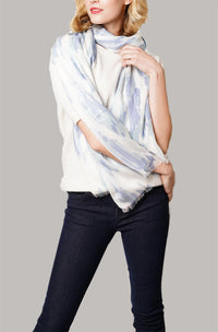 Serena Wrap - Blue Grey