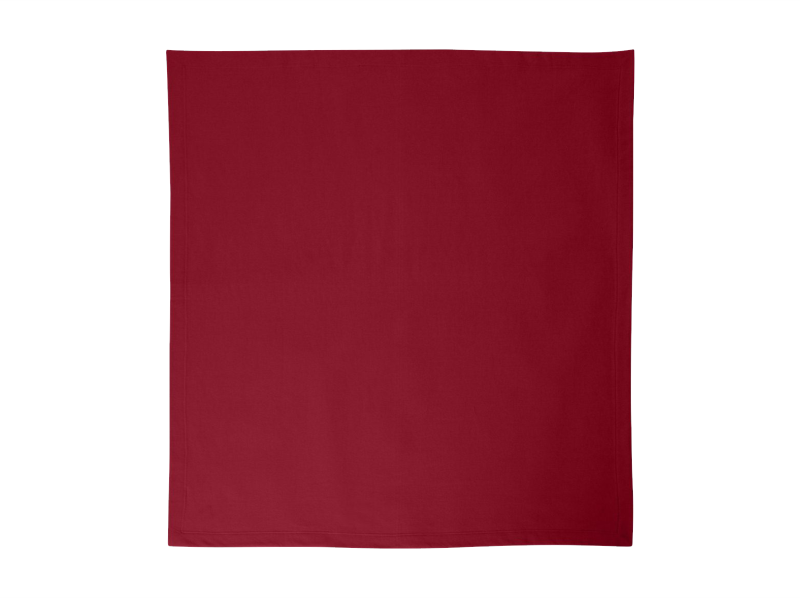 Monogrammed Fleece Stadium Throw Blankets (Burgundy)