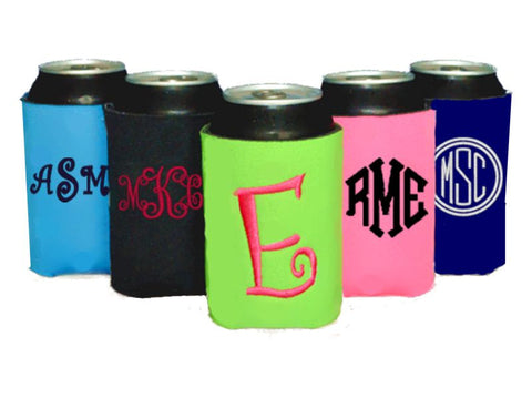 Personalized Can Koolies (Solid Colors)