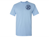 Monogrammed T-Shirts (Light Blue)